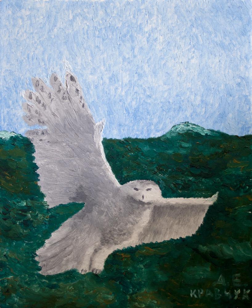 "Картина - ""Полярная сова"""