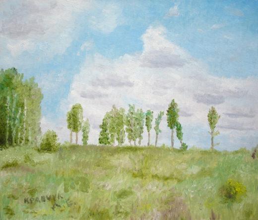 """Картина - """"На опушке леса"""""""
