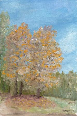 """Картина - """"Ранняя осень"""""""