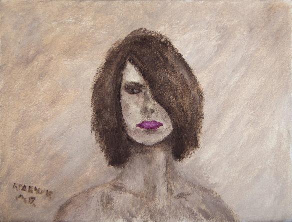 """Картина - """"Портрет девушки"""""""